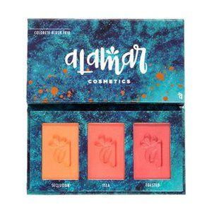 Alamar Cosmetics - Colorete Blush Trio - Medium